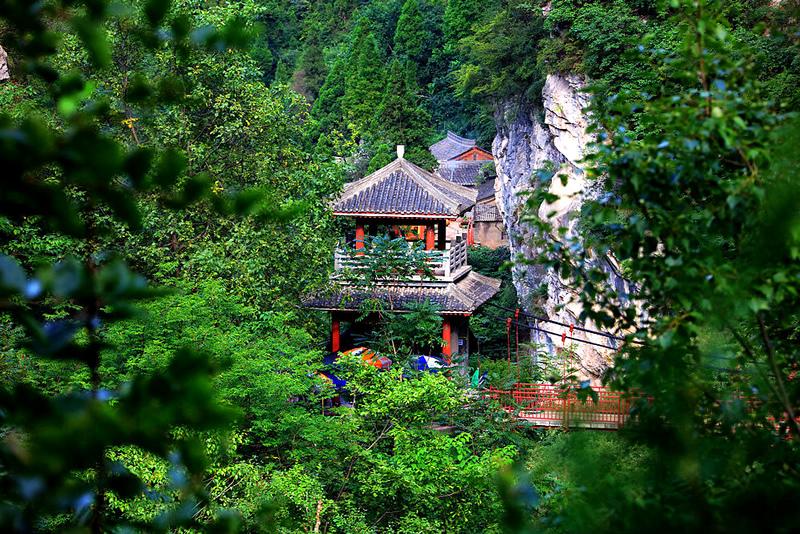 陇南成县西峡颂景区