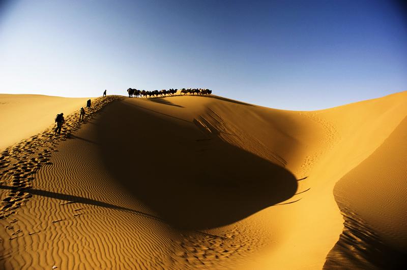 巴丹吉林沙漠徒步穿越