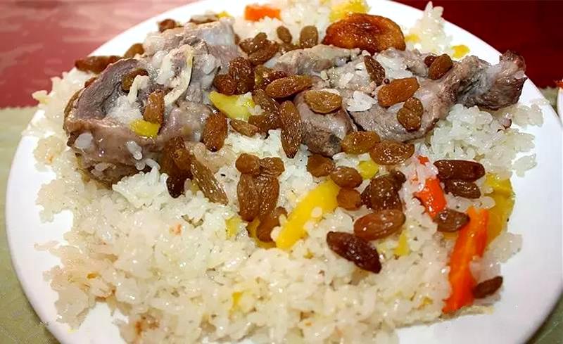 吐鲁番葡萄干抓饭